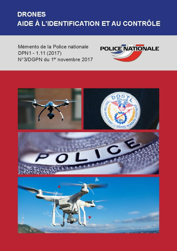 Memento for the National Police for the control of drones