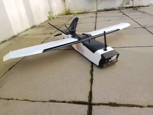 Drone aircraft high elongation